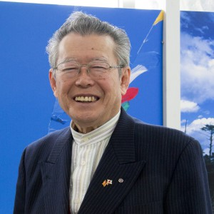 シニア起業セミナー講師 野坂弦司氏の写真