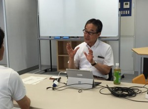 シニア起業セミナー講師 横屋創業マネージャーの写真
